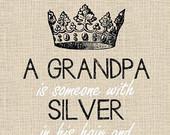 Grandpa Gift. Papa Opa Poppy Papaw Grandpa Personalized Print. Pop ...
