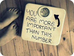 """You are more important than this number."""""""