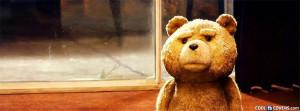 Sad Teddy Facebook Cover