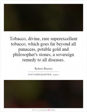 Tobacco Divine Rare Superexcellent Which Goes Far Beyond