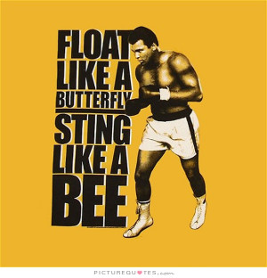 Sports Quotes Boxing Quotes Bee Quotes Muhammad Ali Quotes