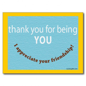Appreciate Your Friend Postcards