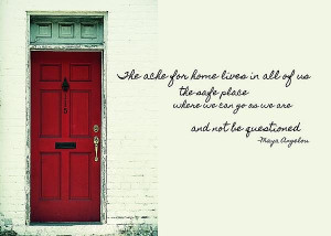 red door quote poster red door quote by jamart photography 4814 of ...