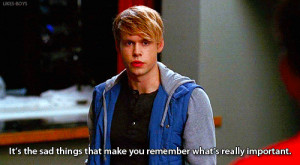 Glee- Sam Quote Extraordinary Merry Christmas 3x09 Sam Quotes, Quotes ...