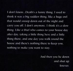 neil gaiman sandman death quotes