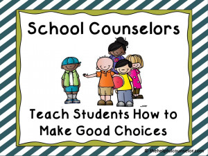 ... go into some of the things I do as a school counselor to help them