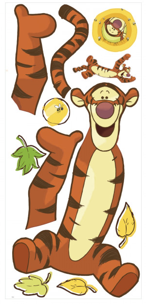 Tigger Giant Wall Stickers
