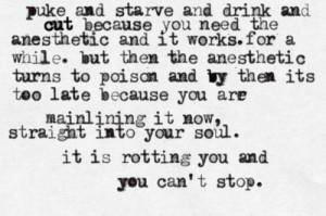 bulimia and anorexia quotes