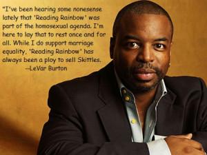 LeVar Burton Sugar Shill