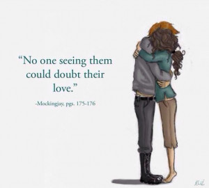 From #TheHungerGames. This makes me think of Lady Emma and the Duke's ...