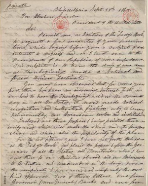 How 'Letters' Saved Thanksgiving