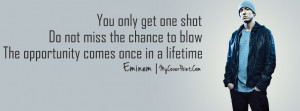 Eminem Quote Facebook Timeline Cover