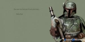 Star Wars Quotes Boba Fett Twitter Header