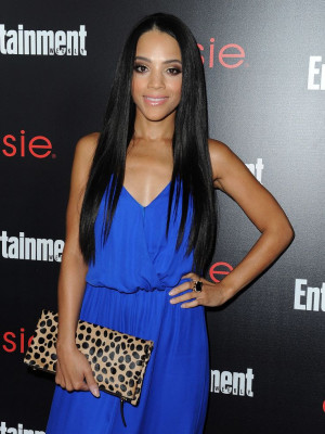Bianca Lawson looked stunning in her vibrant ensemble.
