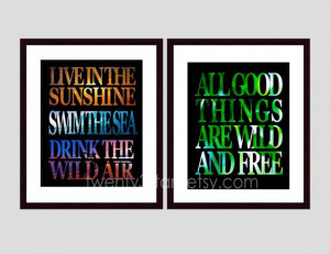 Henry David Thoreau and Ralph Waldo Emerson Quotes by twenty3stars, $ ...