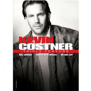 Kevin Costner Triple Feature: Bull Durham / No Way Out / Dances With ...