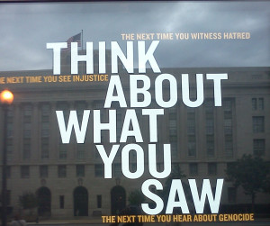 Think About What You Saw… (An image from the United States Holocaust ...