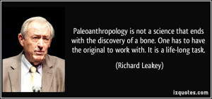 More Richard Leakey Quotes