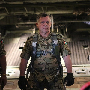 Jordan's King Abdullah (pictured), a trained pilot, could lead revenge ...