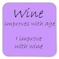 funny wine glass sayings | DIY Funny Wine Glass Decal Set of 3 Sayings ...