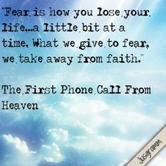 QUOTES FIRST PHONE CALL FROM HEAVEN