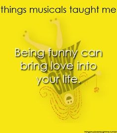 Musical quotes funny girl