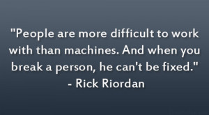 Quotes By Rick Riordan