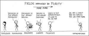 On the other hand, physicists like to say physics is to math as sex is ...