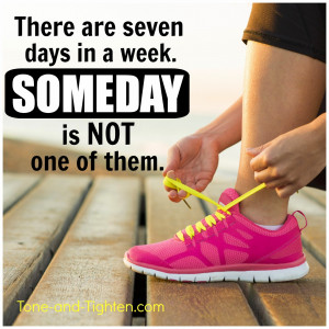 Fitness Motivation – Make today your someday – Gym inspiration