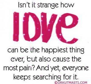 Love hurts sometimes... - love Photo