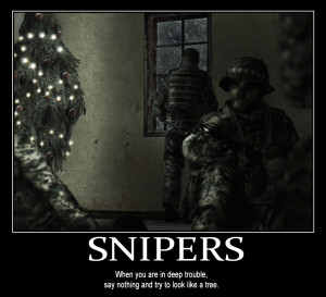 Funny Sniper Quotes Picture