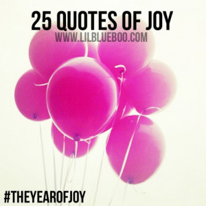 Since you get more joy out of giving joy to others, you should put a ...