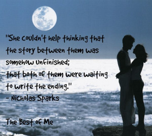 ... Quotes, Nicholas Sparks Quotes Best Of, Quote'S I, Best Of Me Movie