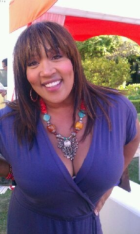 Actress Kym Whitley wearing Gotroxx necklace.