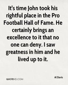 Al Davis - It's time John took his rightful place in the Pro Football ...