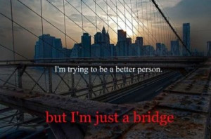 better, bridge, funny, people, quote, wtf