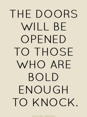 Monday Morning Pick Me Up: Be Bold!