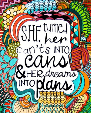Turn your dreams into plans...