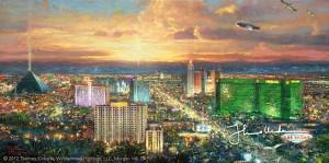 Thomas Kinkade - Viva Las Vegas 2009
