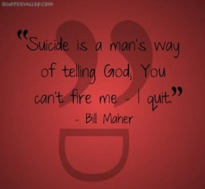 Great Quotes About Suicide