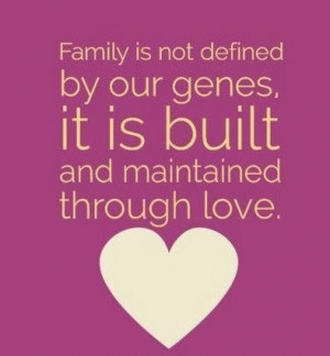 Blended Family Quotes To be a blended family.