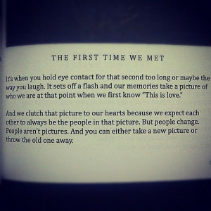 the first time we met #iwrotethisforyou