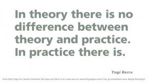Yogi Berra - Dirty Yoga 41 #Quotes