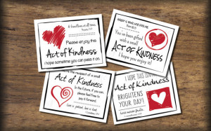 Love Random Act of Kindness cards. Instant download. Pdf printable ...
