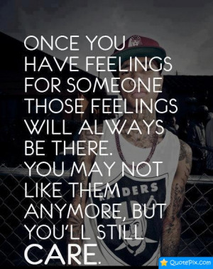 Have Feelings For Someone
