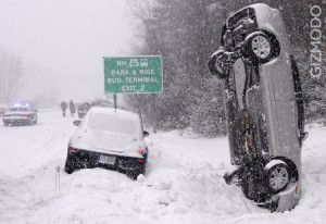 The gigantic snow storm continues all across the United States. Has ...