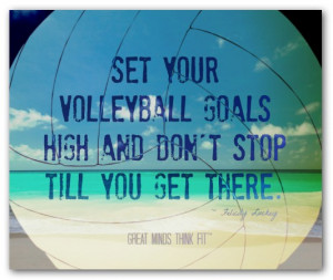 More Volleyball Posters with Inspirational Volleyball Quotes