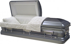 Home Caskets Natural Silver Brush