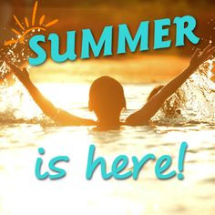 Summer is here! #summer #quotes #swim