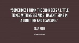 Show Choir Quotes